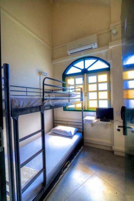 2人床 私人房