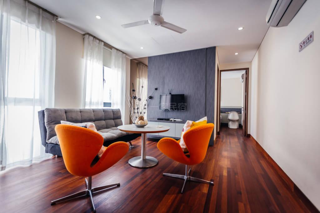 新加坡海克拉斯泳池别墅一室一厅3号套房