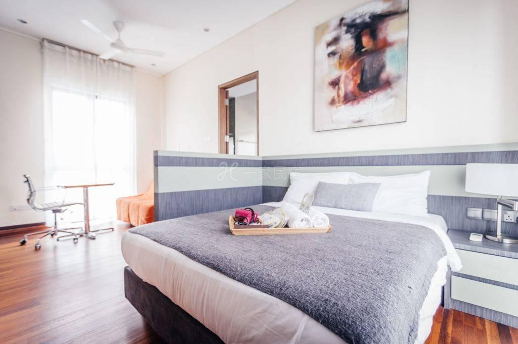 新加坡海克拉斯泳池别墅一室一厅8号套房