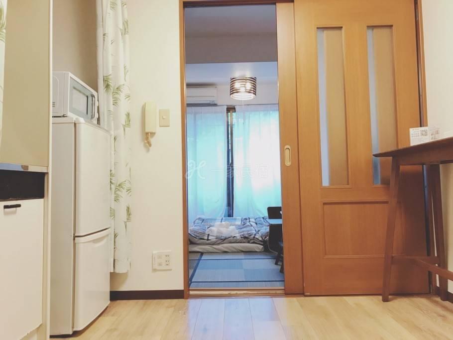 JR山手 车站1分 上野1分 附WIFI