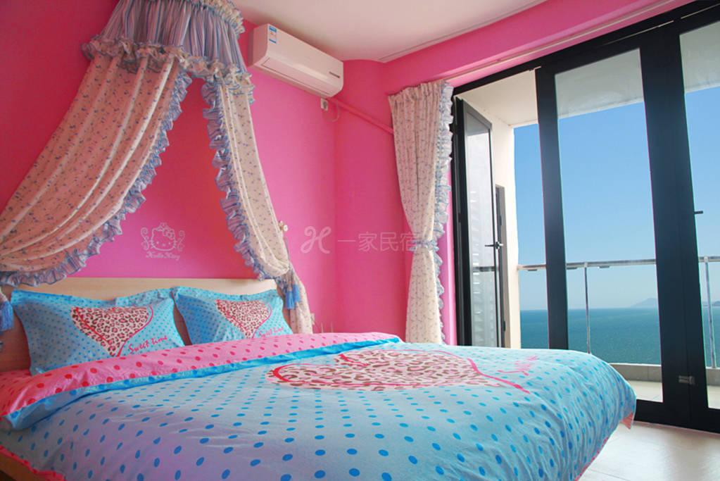 枫传说三亚湾180度全海景家庭房