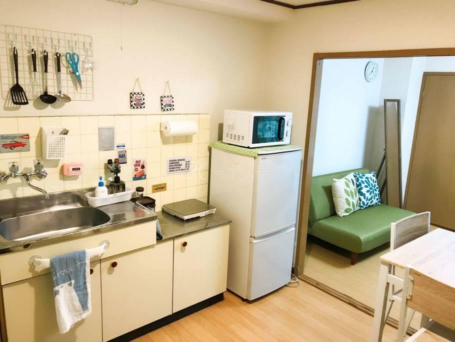 大阪市区心斋桥难波5分钟便利店10秒公寓