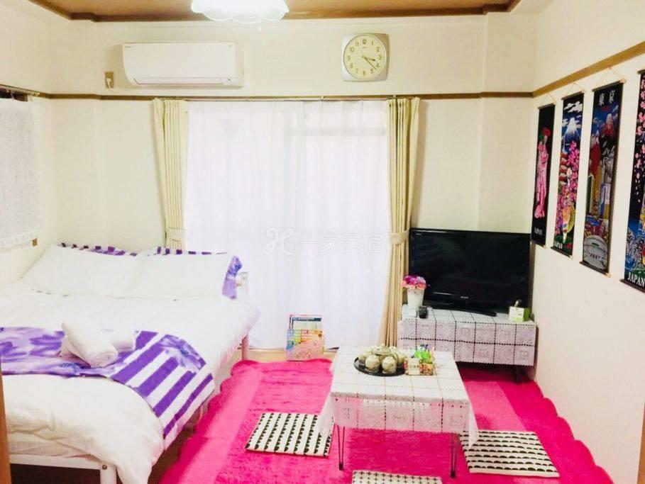 繁华便捷和式宽敞居室直达机场新宿涉谷银座