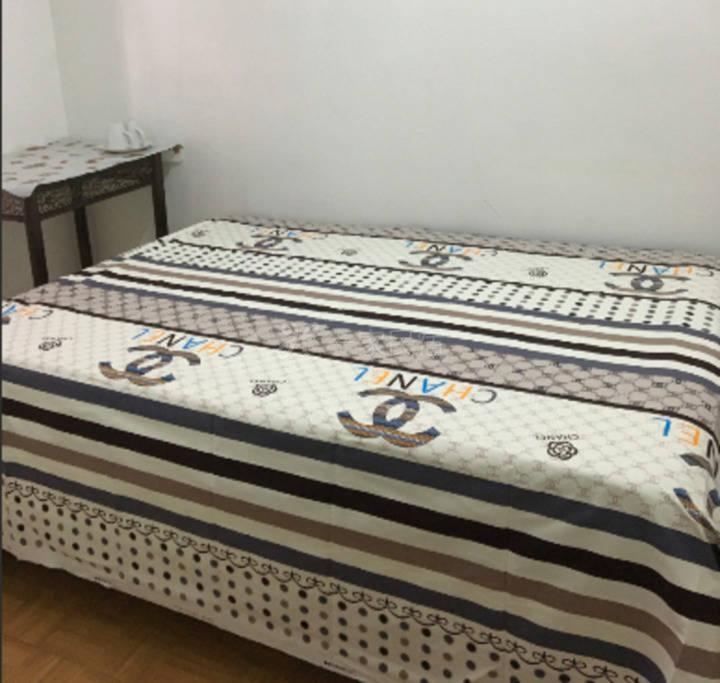 舒适的大床纯棉床品