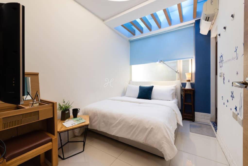 罗东窝旅店-海洋2人房-离罗东火车站,夜市走路3分鐘