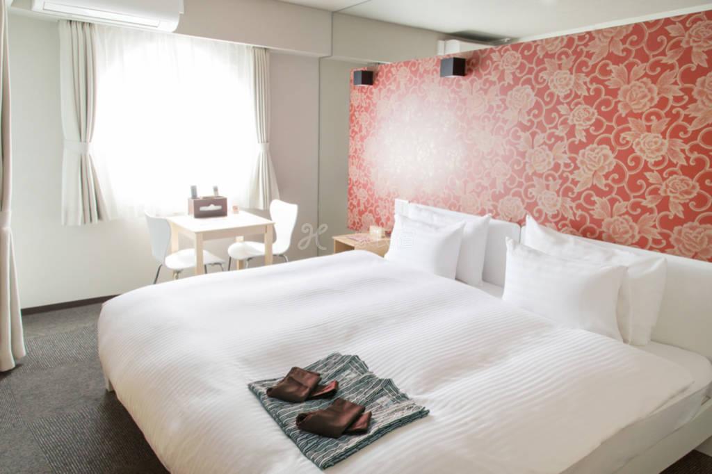 京都市中心交通便利!和风温馨大床房402